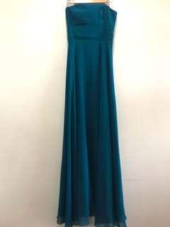Tube Sea Blue Gown