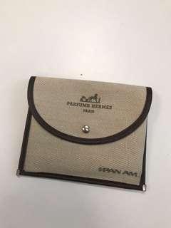 Hermes x PAN AM  vintage Rare souvenir pouch