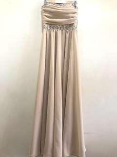 Nude Tube Gown