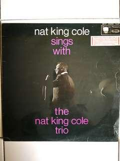 You're listening to the Nat king Cole trio lp vinyl record