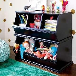 兒童 多用櫃 收納櫃 可當坐椅