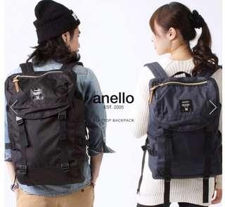 Unisex Anello Backpack (Navy)