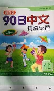 90日中文精讀練習(四上) Chinese Exercise