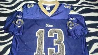 Reebok authentic NFL jersey rams warner xl