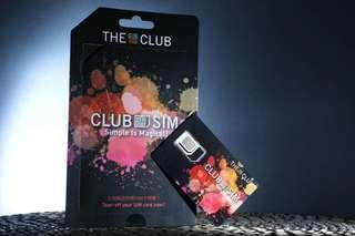 Club sim 5gb 數據卡 上網