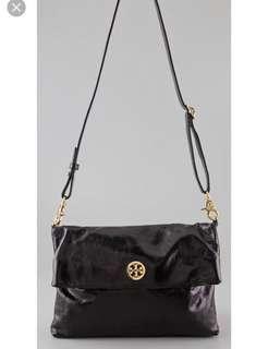 Tory Burch Dena Messenger Bag (Black)