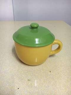 🚚 黃綠雙色泡麵碗