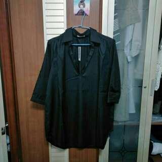 (含運)全新七分袖襯衫