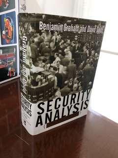 Buku wajib fundamental stock investor: Benjamin Graham's Security Analysis