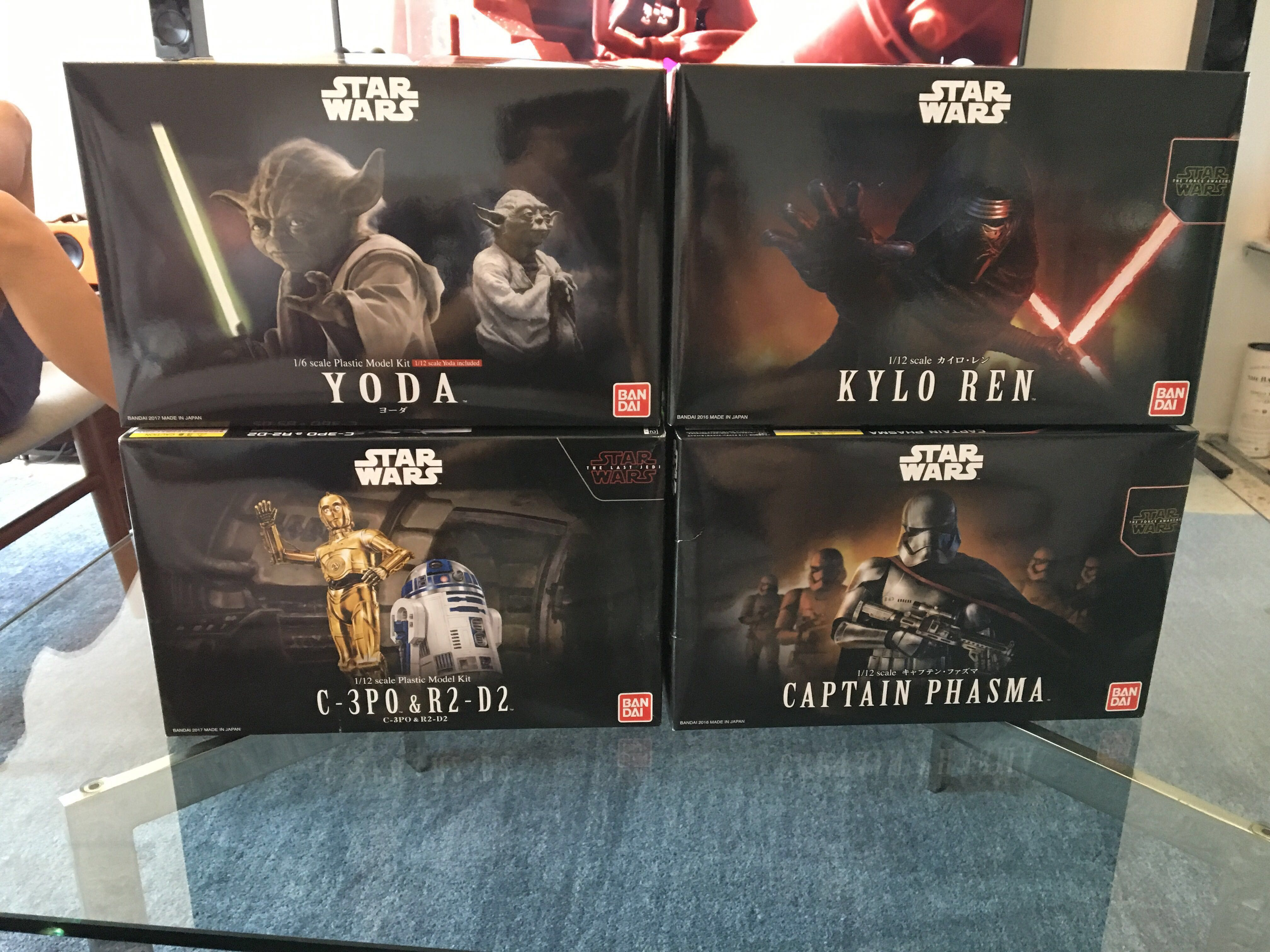 1/12 Star Wars Bandai Model Kits