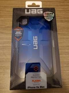 UAG iPhone xs max case 軍事科學保護殼 透藍色