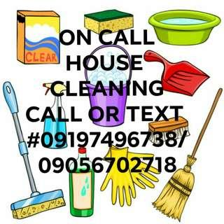 ON CALL CLEANING
