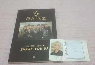 Rainz 2nd mini album Shake you up