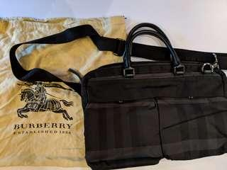 100% Authentic Burberry Laptop Tote Bag