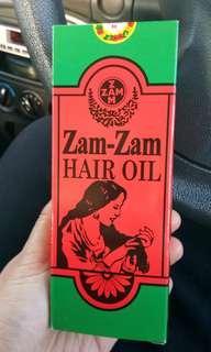 Minyak rambut ZamZam #STB50