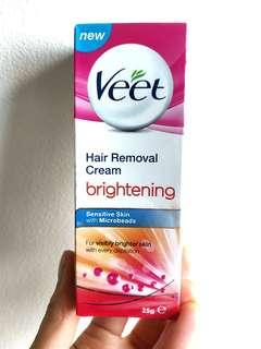 Veet Hair Removal Cream Brightening Sensitive Skin
