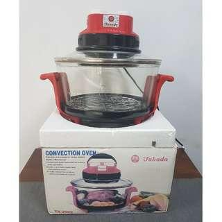 Takada turbo convection oven broiler 4kg Red TK-3000