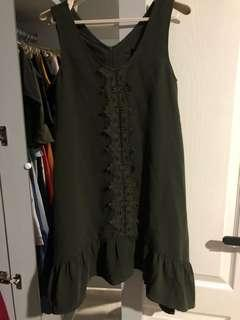 Ninth collective olive dress