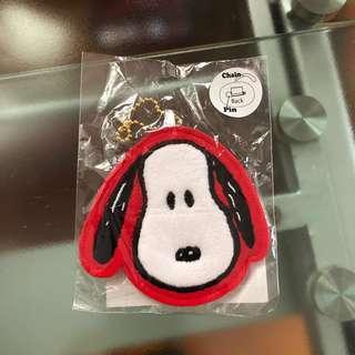 Snoopy 鎖匙扣 扣針