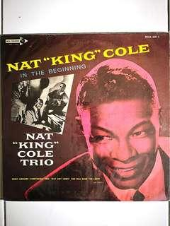 Nat king Cole in the beginning vinyl lp record