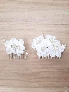 Bridal Hair Accessories Flower #EndgameYourExcess
