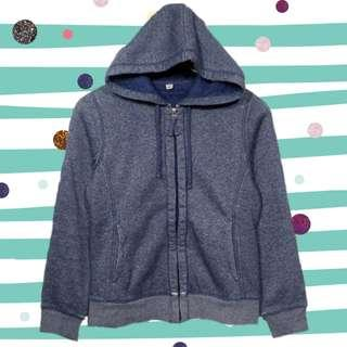 Uniqlo Fur Acid Jeans Zipper Hoodie