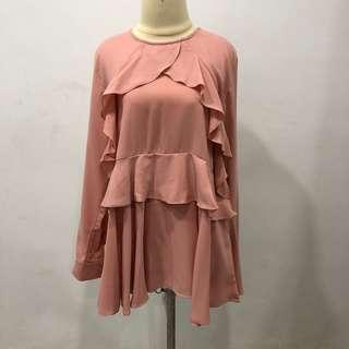 Blouse Rample Pink