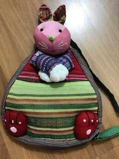 Rabbit backpack bag