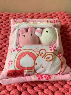 櫻花兔🌸麻薯公仔