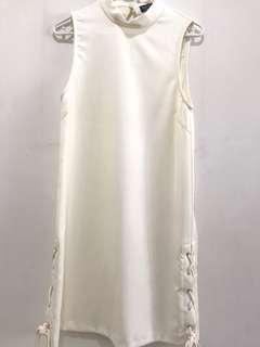 Zalora Off White Dress