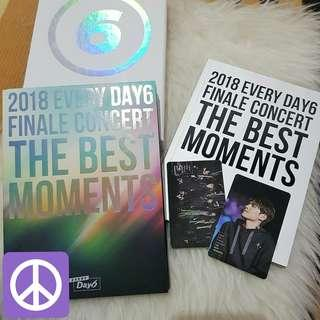 Day6 DVD The Best Moments