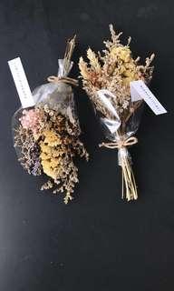 Dried/Preserved Flower Bouquet - Minimalistic