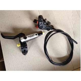 Shimano Deore M615 Hydraulic Rear Brake (Left + Rear) for Fiido/DYU/AM/TEMPO etc