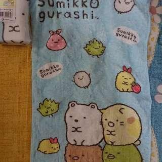 🚚 角落生物童巾毛巾擦手巾多個有藍粉