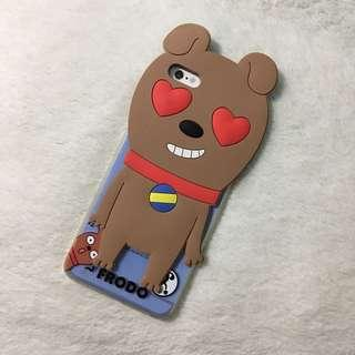 BRAND NEW 6plus 6splus frodo kakao talk dog iphone case