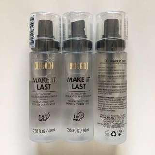 🚚 Milani Make It Last / Dewy Setting Spray