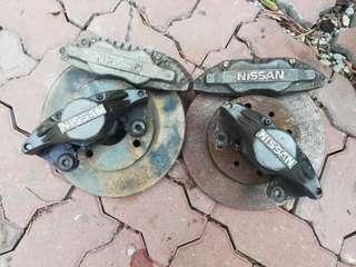 4pot dan 2pot Brake Nissan Latio Grandlivina Impul Almera perdana Myvi kenari kelisa