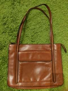 (Price reduced) Made in Italy Vintage genius leather bag