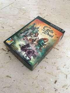 The castle of the devil board game