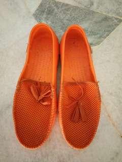 Bata plastic loafers