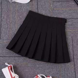 black tennis skirt aa inspired