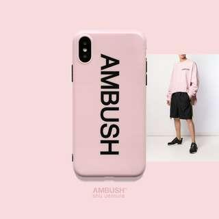 [PO] 'AMBUSH' pink iphone case