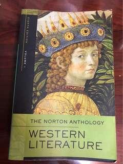 🚚 The Norton Anthology-Western Literature