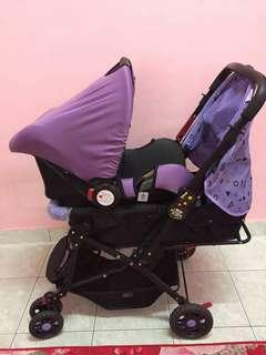 Stroller + Carseat Baby
