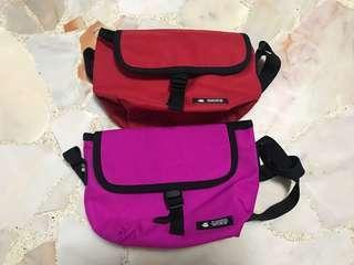 🚚 Punkstar Pink Red Sling Bag
