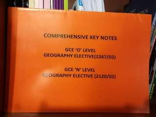 Secondary. Geography elective guide book