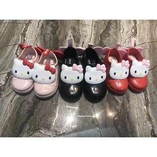 日本原單Kitty三色防水雨鞋
