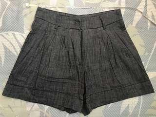 Dark grey short pants