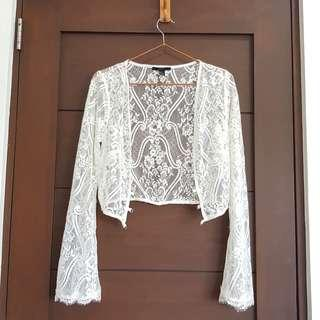 Forever 21 Lace Cover-up