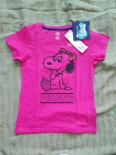 Brand NEW Girl's Tee (Snoopy)
